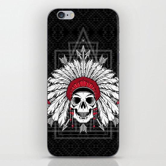 Southern Death Cult iPhone & iPod Skin
