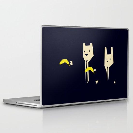 Pulp banana Laptop & iPad Skin