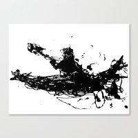 Kayakers Kayak Canvas Print
