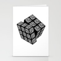 Qr Cube Stationery Cards