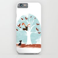 iPhone & iPod Case featuring Pinkerton Snake Gets Stuck in a Tree by David Finley