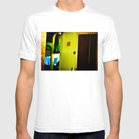 Motel Mens Fitted Tee White SMALL
