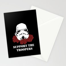 Support the Troopers Stationery Cards