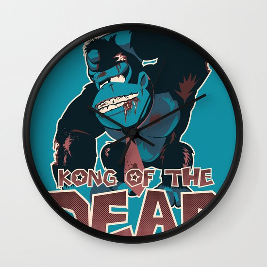 Kong of the Dead Wall Clock