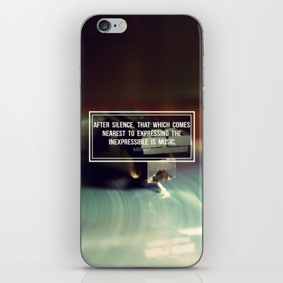 After Silence iPhone & iPod Skin