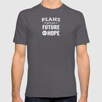 HOPE For The FUTURE Mens Fitted Tee Asphalt SMALL