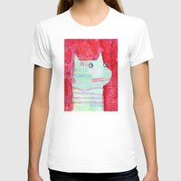 Clarence Womens Fitted Tee White SMALL