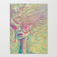 Cyber Flair Canvas Print