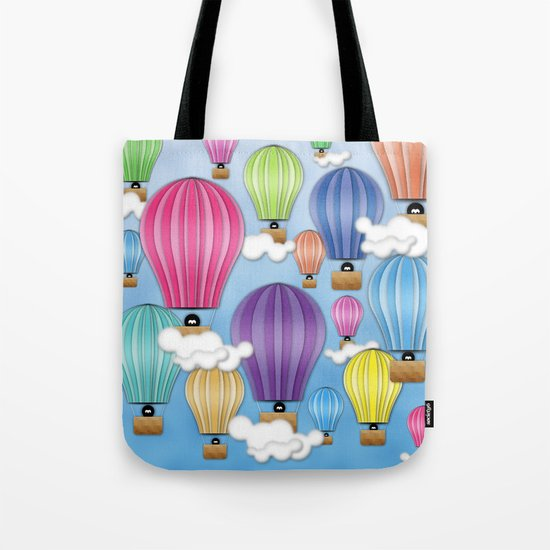UP! UP! AND AWAAAAAAYYY!  Tote Bag