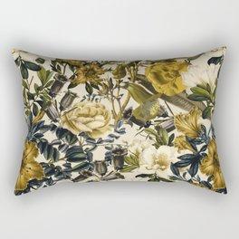 Rectangular Pillow - Warm Winter Garden - Burcu Korkmazyurek