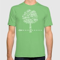 Do not cross Mens Fitted Tee Grass SMALL