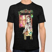 Even ELF Shouldn't Be Al… Mens Fitted Tee Tri-Black SMALL