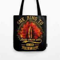 Ring Of Doom Tote Bag