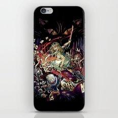 Zombies in Wonderland iPhone & iPod Skin