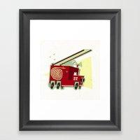 FIRE!!! Framed Art Print