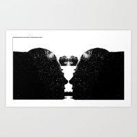 Doublefaced Art Print