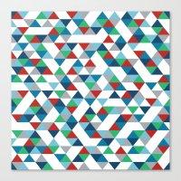 Triangles #3 Canvas Print