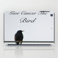 Give Cancer the Bird 2 iPad Case