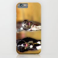 two dogs iPhone 6 Slim Case