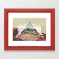 Perceptions landscapes Framed Art Print