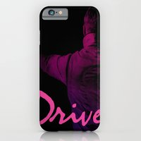 iPhone & iPod Case featuring Ryan Gosling in Drive by 2b2dornot2b