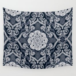 Wall Tapestry - Centered Lace - Dark - micklyn