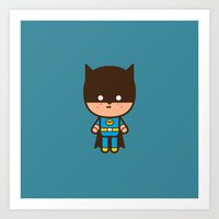 #51 The Bat Man Art Print