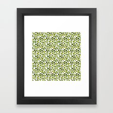 Clover Field (with Some … Framed Art Print
