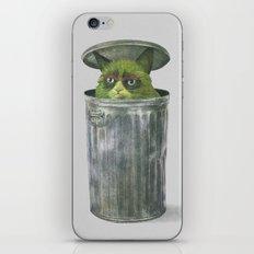 Grouchy Cat  iPhone & iPod Skin