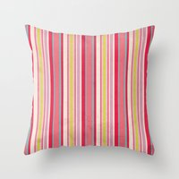 Acid Lolipops Throw Pillow
