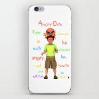 Angryocto - Tony's IceCr… iPhone & iPod Skin