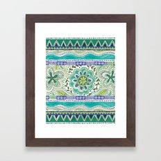 Boho Bloom Framed Art Print