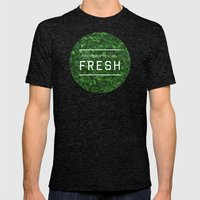 Stay Fresh Mens Fitted Tee Tri-Black SMALL