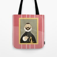 Nobleman with his Hand on his Chest by Greco Tote Bag
