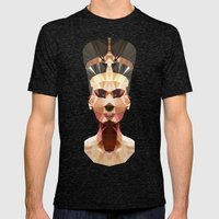 Polygon Heroes - Nefertiti Mens Fitted Tee Tri-Black SMALL