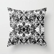 Ikat #5E Throw Pillow