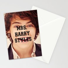 Mrs. Harry Styles Stationery Cards