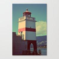 light on a shore Canvas Print