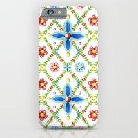 Millefiori Heraldic Lattice iPhone 6 Slim Case