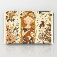 The Queen Of Pentacles iPad Case