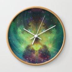 cosmic meditation  Wall Clock