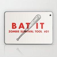 Bat it - Zombie Survival Tools Laptop & iPad Skin