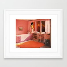 HOT LAVA Framed Art Print