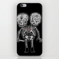 Twinsies iPhone & iPod Skin