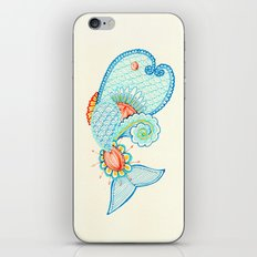 Monsieur Poisson iPhone & iPod Skin