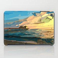 summer beach 1 iPad Case