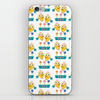 Gardening Owl iPhone & iPod Skin