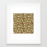 Dim Sum Darling Framed Art Print