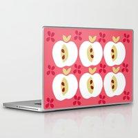 apple Laptop & iPad Skins featuring apple by ottomanbrim