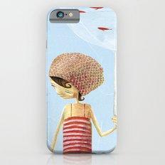 FISH IN UMBRELLA - triptych image 2 iPhone 6 Slim Case